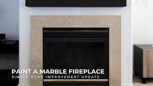 simple marble fireplace surround upgrade