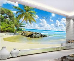 Caribbean Beach Wall Murals Venice Vinyl Themed Art For Sale 3d Outdoor Wallpaper Peel And Stick Vamosrayos