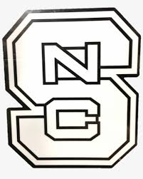 Nc State Wolfpack White Block S Dizzler North Carolina State Wolfpack Vinyl Decal Png Image Transparent Png Free Download On Seekpng