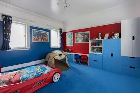 Blue And Red Theme Boys Room Design Id912 Beautiful Boys Room Designs Kids Room Designs Interior Design