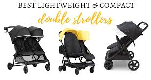best lightweight double stroller for