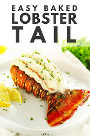 Baked Lobster Tails | Recipe