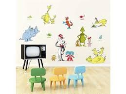 Dr Seuss Wall Decals Quotes The More That You Read The More You Know Kids Wall Stickers Baby Nursery Childrens Bedroom Classroom Playroom Wall Decor Newegg Com