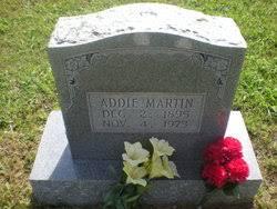 Addie Martin (1895-1973) - Find A Grave Memorial