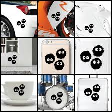Dust Ball Soot Sprite Vinyl Decal Sticker For Wall Car Iphone Ipad Laptop Ebay