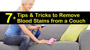 7 tips tricks to remove blood stains