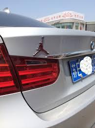 Air Jordan Jumpman Car Metal Decal Emblem Badge