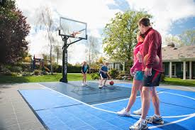 Cost Of Building Backyard Basketball Court Sport Court Game Court