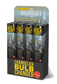 highlight chandelier bulb changer