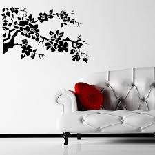 Floral Tree Branch Wall Sticker Decal World Of Wall Stickers