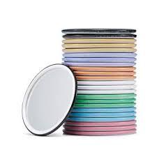 com compact mirror bulk round