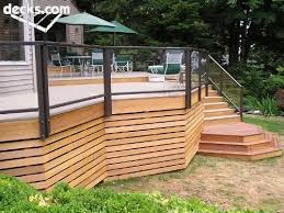 Multi Level Deck Picture Gallery Deck Skirting Building A Deck Deck Steps