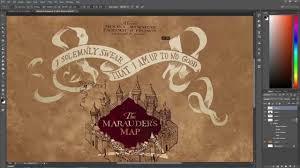 sd art marauder s map wallpaper