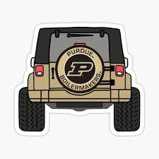 Purdue Stickers Redbubble