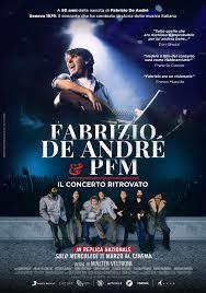 """Fabrizio De André e PFM. Il concerto ritrovato"""" torna in sala l'11 ..."""