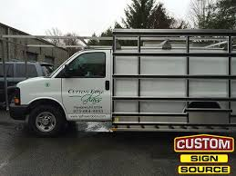 van graphics by custom sign source by