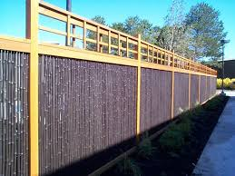 Black Rolled Bamboo Fence Panel Bamboo Fencer The Owner Builder Network