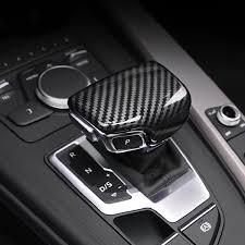 abs carbon fiber printed car gear shift
