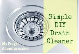 simple homemade drain cleaner my