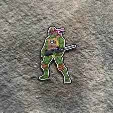 Tactical Ninja Turtle Donatello Vinyl Decal