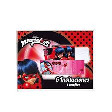 Invitaciones Ladybug 6 Por Solo 2 50 Envio 24h En Masfiest