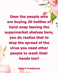 Image result for dear people buying 30 bottles of hand soap