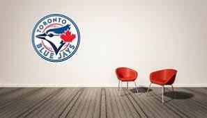 Toronto Blue Jays Mlb Bedroom Wall Decal Vinyl Ebay
