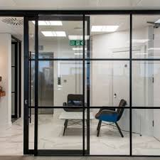glass partitioning london acoustic