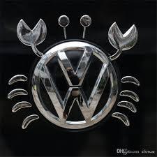 2020 Funny 3d Crab Sticker Decal Badge Emblem Car Vinyl Logo Decals For Vw Volkswagen Any Car From Eforcar 3 82 Dhgate Com
