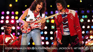 eddie van halen on the guitar solo in michael Jackson's hit Beat it -  YouTube