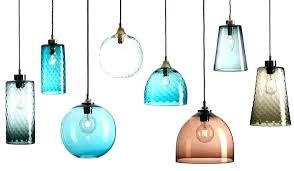 glass pendant lamp shades light