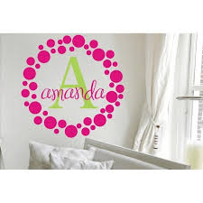 Amanda S Dots Vinyl Wall Decal Jack And Jill Boutique