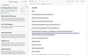how to use evernote for ivity