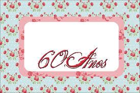 Tarjetas De Invitacion Para Cumpleanos De 60 Anos Mujer Para Fondo