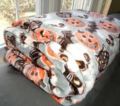 sourpuss black cats blanket beige