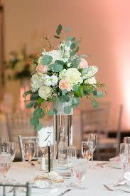 gorgeous flower centerpieces greenery
