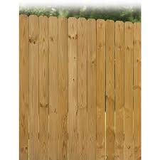 1 In X 4 In W X 6 Ft H Pressure Treated Southern Yellow Pine Dog Ear Fence Picket In The Wood Fence Pickets Department At Lowes Com