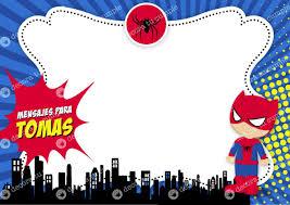 Kit Imprimible Spiderman Hombre Arana Cumpleanos Invitacion