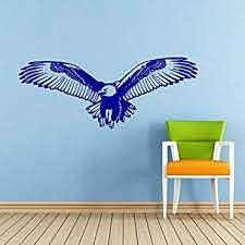 Eagle Wall Decal Bird Of Prey Bald Eagle Head Hawk Flying Wings Decals Wall Vinyl Sticker