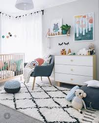 Pops Of Peach Room Tutorial Copy The Color Palette Of This Nursery By Adding Peach And Green Acce Neutral Kids Room Green Kids Rooms Gender Neutral Kids Room