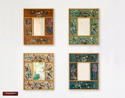 peruvian small mirror set 4 from peru
