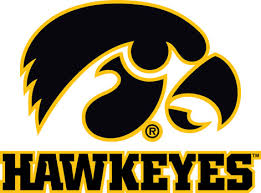 Iowa Hawkeyes With Tigerhawk Vinyl Decals