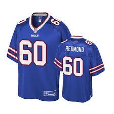 Buffalo Bills Youth #60 Adam Redmond Royal Player NFL Pro Line Jersey