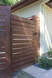 modern horizontal fence the cavender