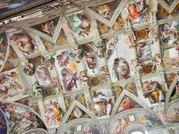 michelangelo sistine chapel ceiling history