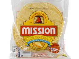 mission super soft yellow corn extra
