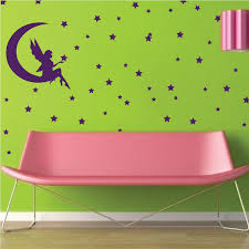 Fairy Bedroom Wall Decal Magical Girls Room Vinyl Sticker Mural Diy Girls Bedroom Removable Wall Decals From Trendy Wall Designs