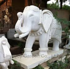 stone animal elephant statue