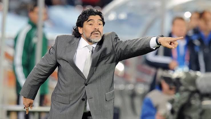 Image result for Maradona coach""
