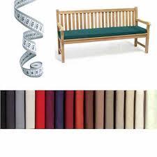 bespoke garden bench seat cushion pad